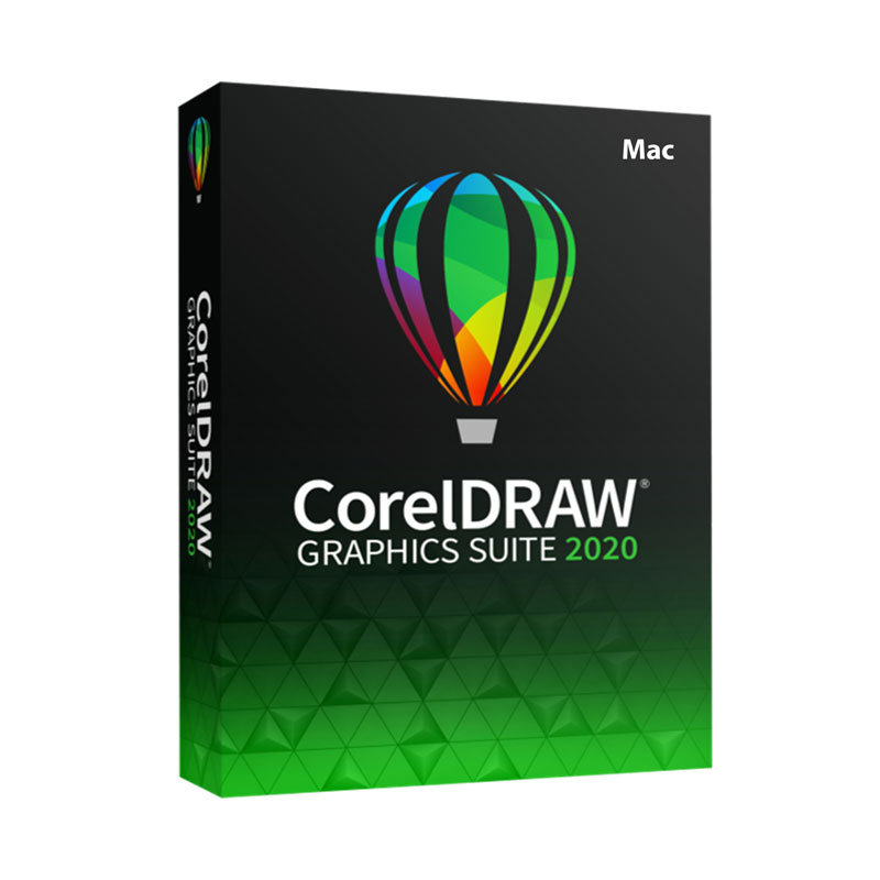 CorelDRAW Graphics Suite 2020 Graphic Design Software - Electronic Download – MAC Version