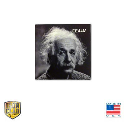 4x4 IronClad Sublimation Ceramic Tile -White Matte