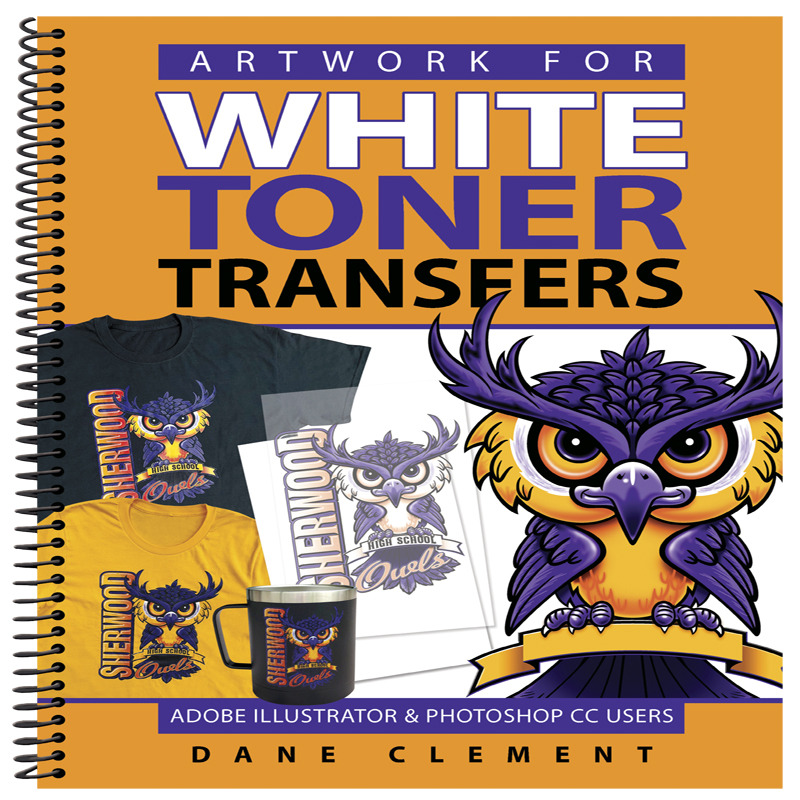 Artwork for White Toner Transfers Book