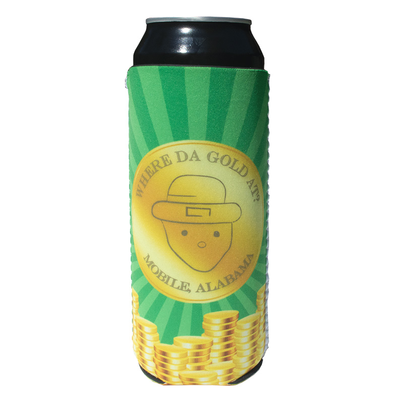 DyeTrans Sublimation Blank Neoprene Slip-On Can Hugger - Fits 24oz Can