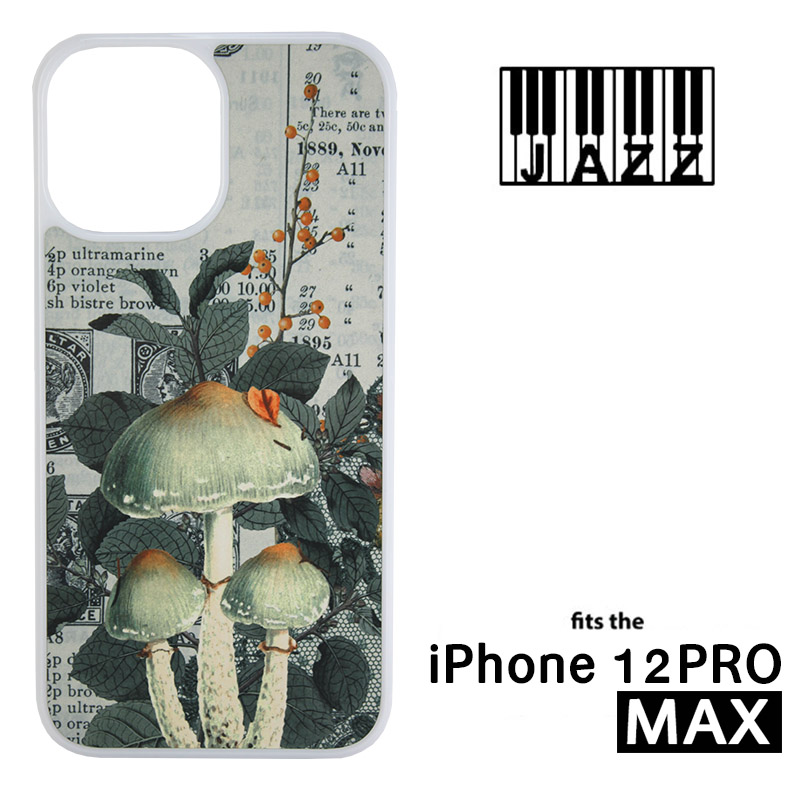 iPhone® 12 Pro Max Jazz™ Sublimation Blank Plastic Case - White w/ Aluminum Insert