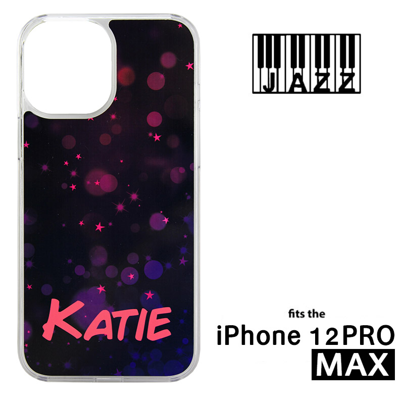 iPhone® 12 Pro Max Jazz™ Sublimation Blank Plastic Case - Clear w/ Aluminum Insert