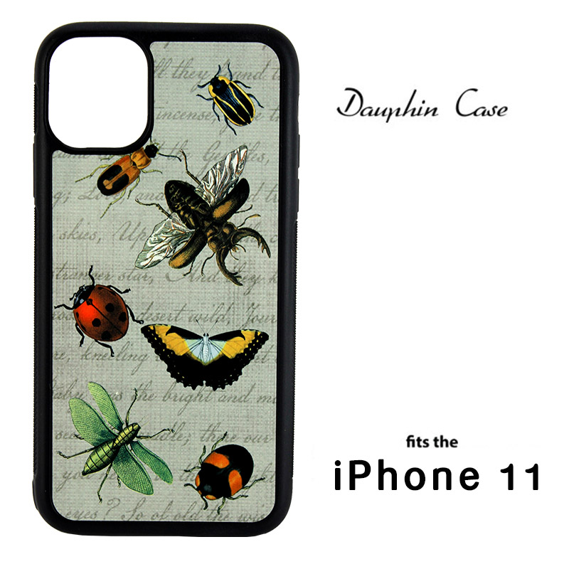 iPhone® 11 Dauphin™ Sublimation Blank Rubber Case - Black w/ Aluminum Insert