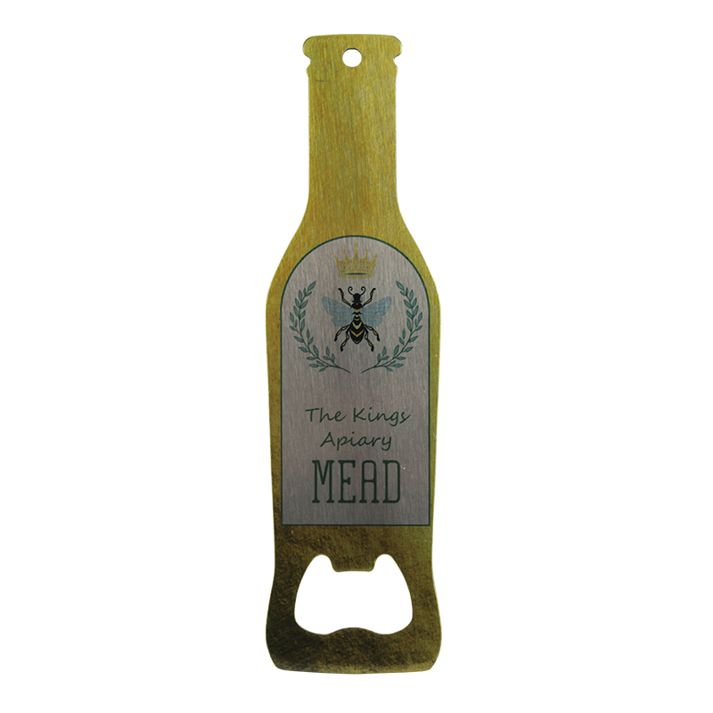 Sublimation Bottle Shaped Opener - Clear Gloss