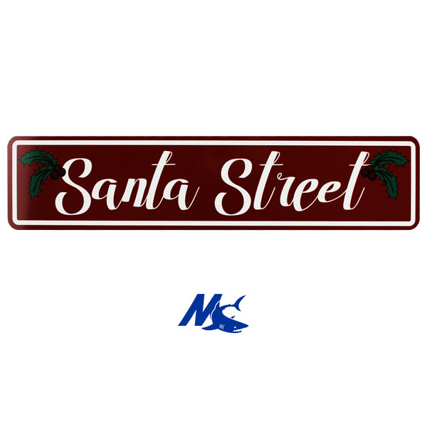 Mako™ Sublimation Blank Aluminum Mini Street Sign - Gloss White - No Holes
