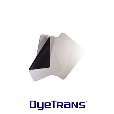 DyeTrans Sublimation Blank Mousepad Material - 2.5mm - Black-Backed - By the Yard