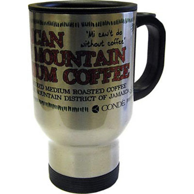 DyeTrans Sublimation Blank Stainless Steel Travel Mug - 14oz