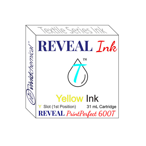 Cartridge for Reveal 600T - Slot #1 - Yellow
