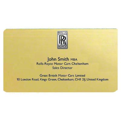 2x3 Satin Gold DyeTrans® Aluminum Name Badge