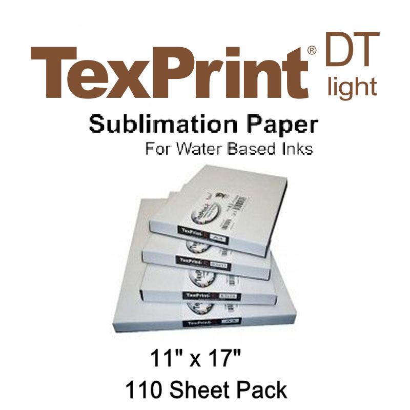 TexPrint XP™ 11x17 High-Release Sublimation Paper