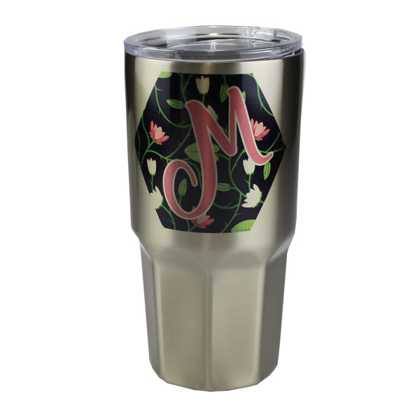Luma Steel™ Sublimation Blank Stainless Steel Tumbler - 30oz - Octagon Base