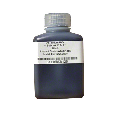 ArTainium Black Bulk Ink Bottle 125ml