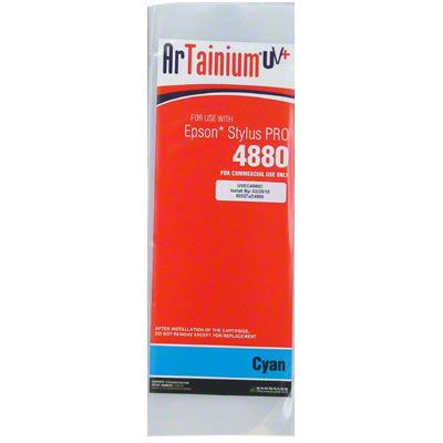 Epson 4880: ArTainium UV+ 110ml Cartridge: Cyan