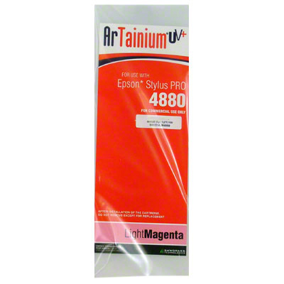 Epson 4880:ArTainiumUV+ 110ml Cartridge:Lt Magenta