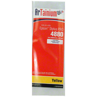 Epson 4880: ArTainium UV+ 110ml Cartridge: Yellow