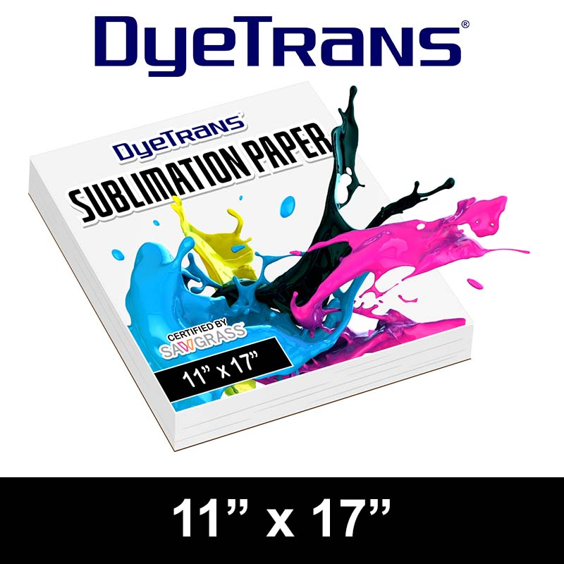 Sublimation Paper: DyeTrans 11x17 Cut Sheet Paper