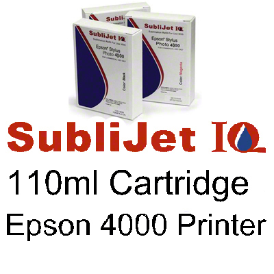 Epson 4000 - SubliJetIQ™ Sublimation Ink- Black