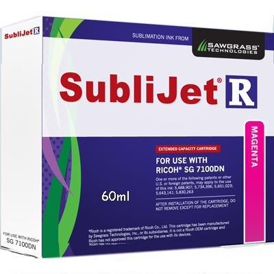 SG 7100DN SubliJet-R HC Ink Cartridge - Magenta