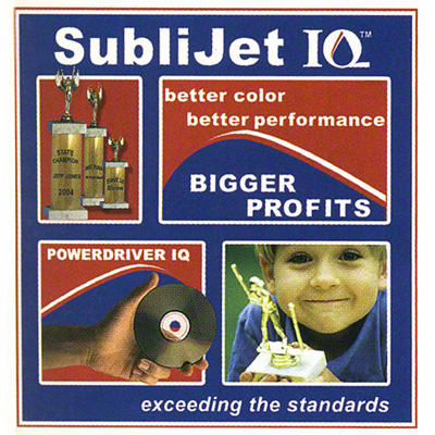 R1900 SubliJetIQ™ Sublimation Ink - Cyan
