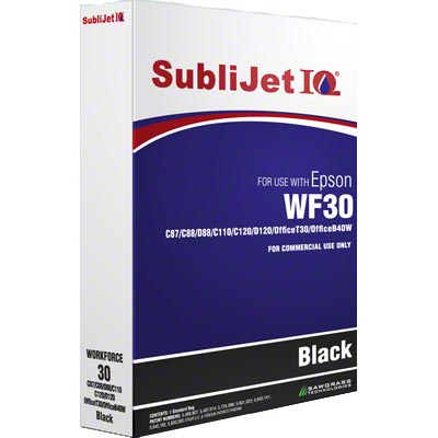 C84/86/88/C120/WF30 SubliJetIQ Refill Bag - Black