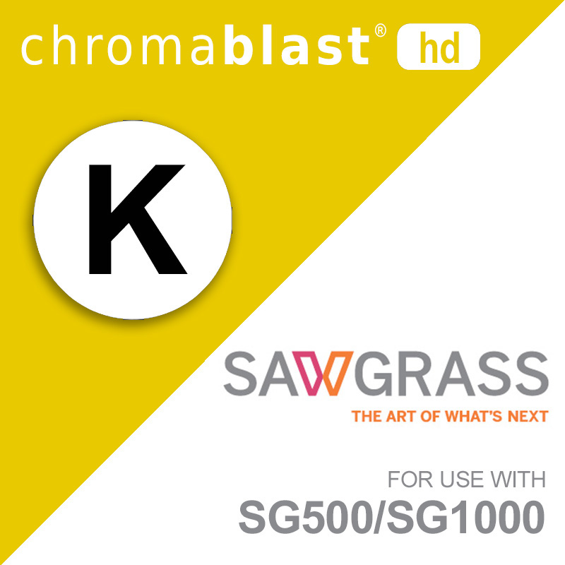 SG500/SG1000 ChromaBlast UHD Ink Cartridge - Black