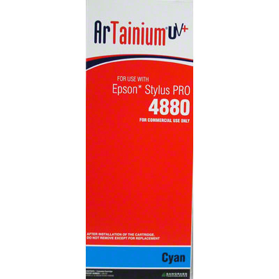 Epson 4880 - ArTainium UV+ 220ml Cart - Cyan