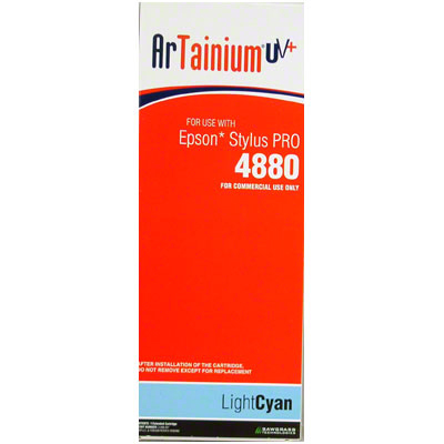 Epson 4880 - ArTainium UV+ 220ml Cart - Lt Cyan