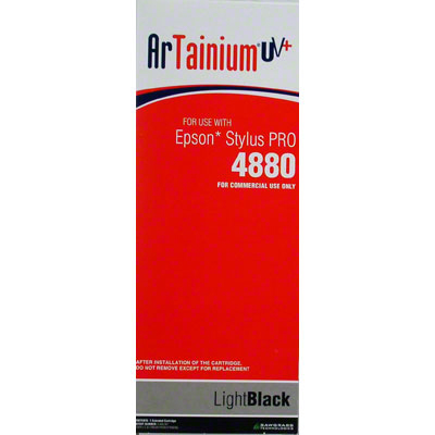 Epson 4880 - ArTainium UV+ 220ml Cart - Lt Black