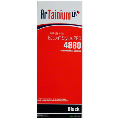 Epson 4880 - ArTainium UV+ 220ml Cart - Black