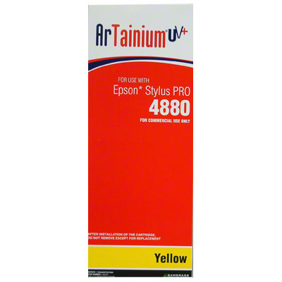 Epson 4880 - ArTainium UV+ 220ml Cart -  Yellow