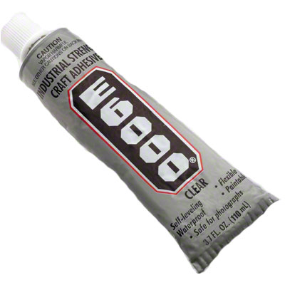 E6000 Glue for Tile & Wrought Iron