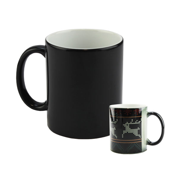 11oz Black to White Color Changing Morph Mug