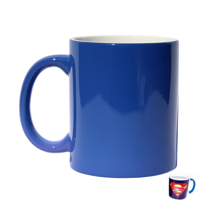 Morph Mug Sublimation Blank Ceramic Color Changing Mug - 11oz - Blue