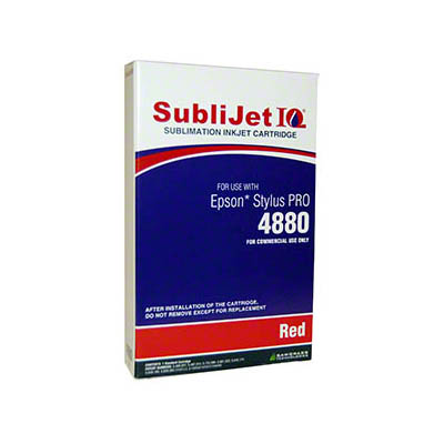 SubliJetIQ Red Sublimation Ink for Epson 4880