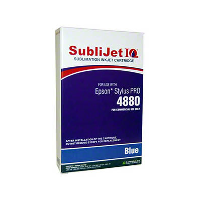 Epson 4880 SubliJet Blue 110ml Ink Cartridge