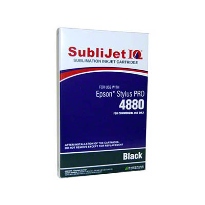 4880 SubliJet Black 110ml Ink Cartridge