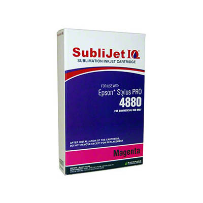 Epson 4880: SubliJet Magenta 110ml Ink Cartridge