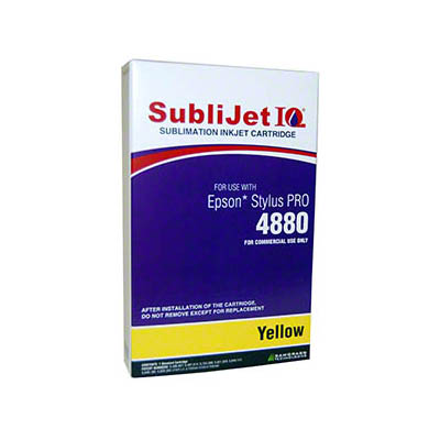 Epson 4880: SubliJet Yellow 110ml Ink Cartridge