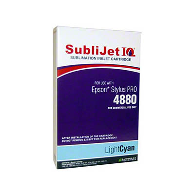 Epson 4880 SubliJet Light Cyan 110ml Ink Cartridge