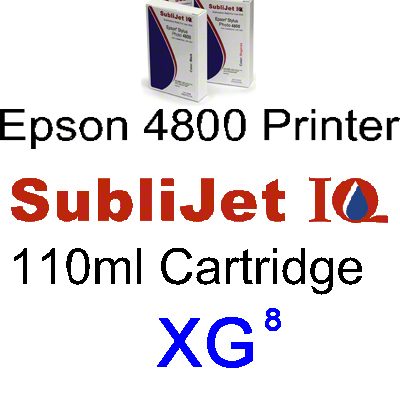 Epson 4800: XG8™  Cyan 110ml Ink Cartridge