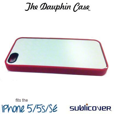 Dauphin Rubber iPhone 5/5s/SE Case - Red
