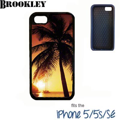 Black Brookley iPhone 5/5s/SE Case