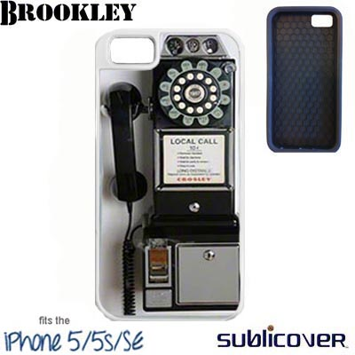 White Brookley iPhone 5/5s/SE Case