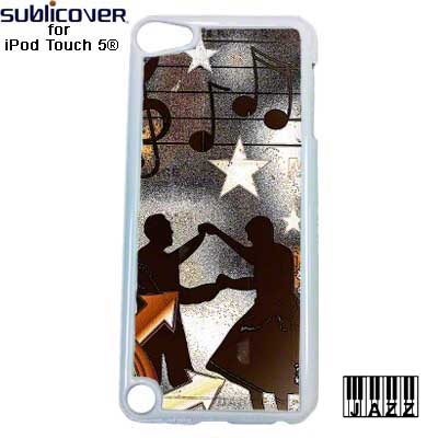Sublimation iPod 5/6 Jazz Plastic Case - White