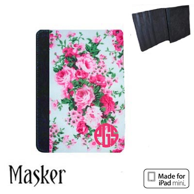 Masker Notebook Case for iPad Mini 1/2 - Black