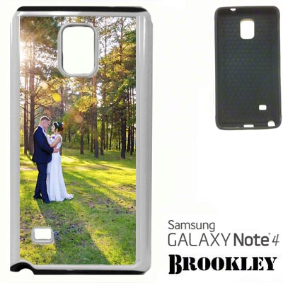 White Brookley Note 4 Case