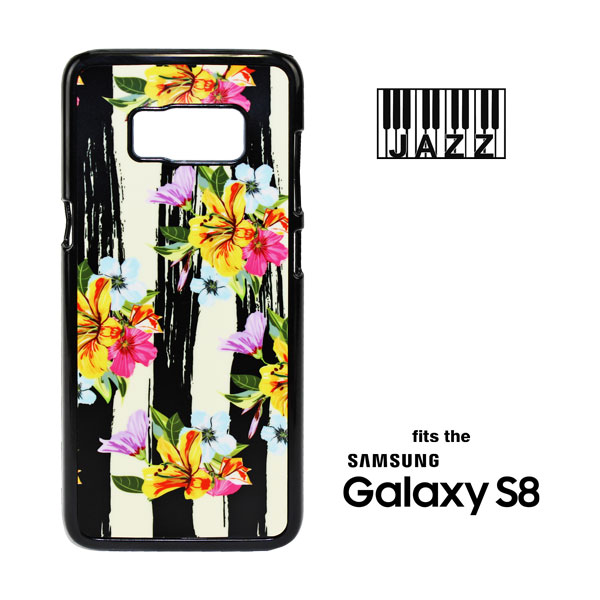 Samsung Galaxy S8 Jazz Plastic Case  - Black