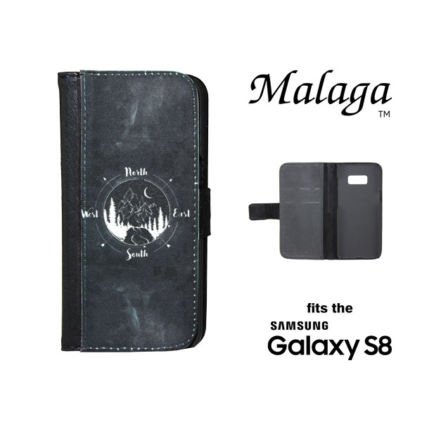 Samsung Galaxy S8® Malaga™ Phone Case - Black