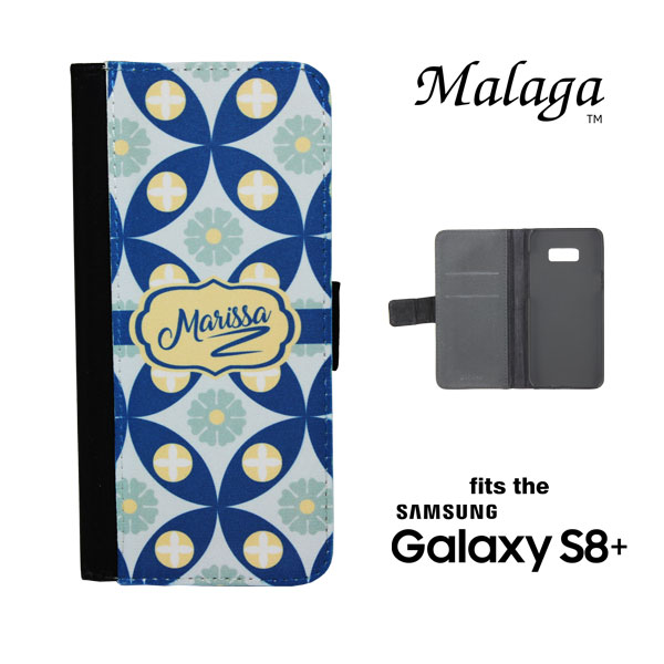 Samsung Galaxy S8 PLUS Malaga™ Phone Case - Black