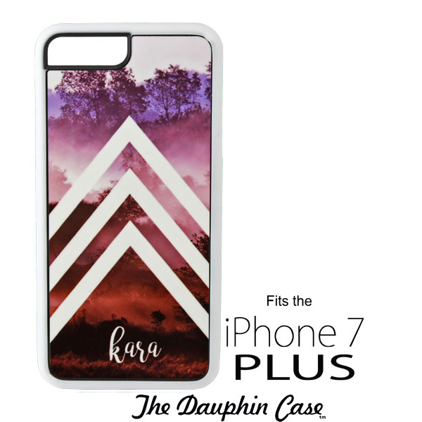 White Dauphin Rubber Case for iPhone 7/8 PLUS